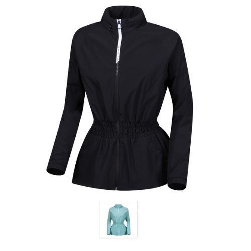 [르꼬끄골프] [판매 BEST]여성 엠보프린트 허리밴딩 자켓 (G9122LBL34)