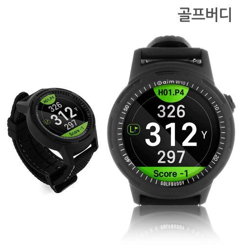 2019신상 골프버디 aim W10 시계형 GPS 거리측정기