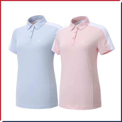 커터앤벅 여성 스판 반팔티셔츠 - PB-11-192-201-49