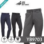 [WIND FACE] 윈드페이스 쟌스트라이프 골프팬츠 Model No_YB9703