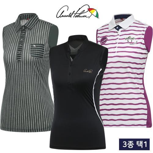 [아놀드파마] 핫썸머 냉감 스트레치 여성 민소매 티셔츠 3종 택1/골프웨어_246167