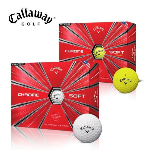 캘러웨이 CHROME SOFT 크롬 소프트 4피스 골프공