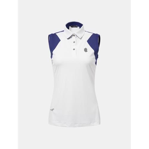 [빈폴골프] [NDL 라인] 여성 화이트 민소매 티셔츠 (BJ8542A221)