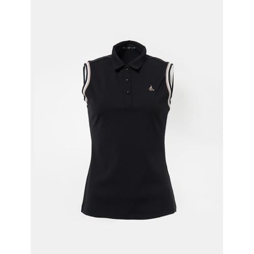 [빈폴골프] 여성 블랙 민소매 칼라 티셔츠 (BJ8442A145)
