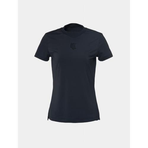 [빈폴골프] [NDL라인] 여성 블랙 원포인트 라운드넥 티셔츠 (BJ9442L705)