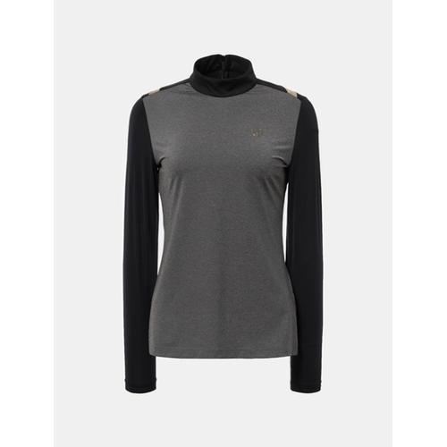 [빈폴골프] [THE OPEN] 여성 그레이 올인원 롱슬리브 티셔츠 (BJ8341E023)