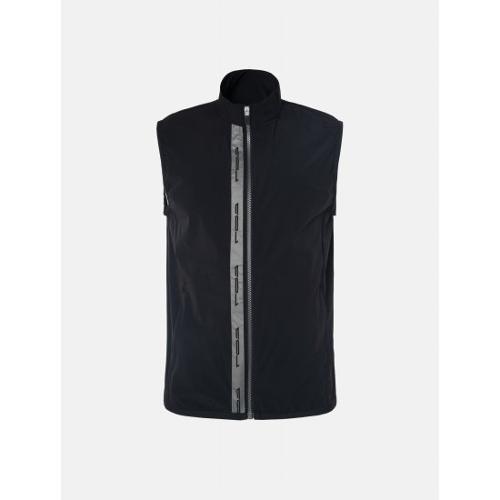 [빈폴골프] [NDL라인] 남성 블랙 로고 포인트 펀칭 베스트 (BJ9336M215)