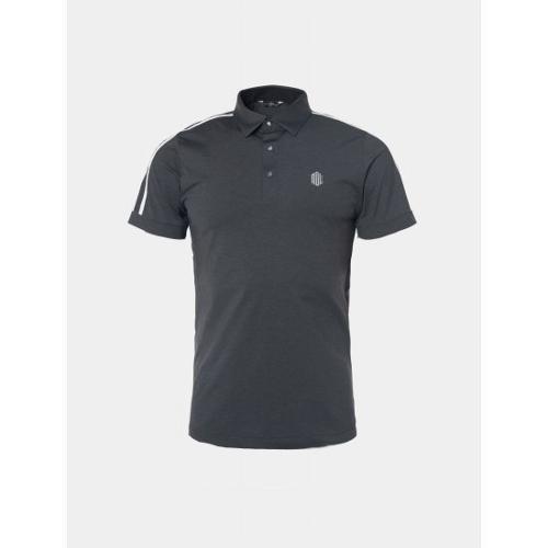 [빈폴골프] [NDL라인] 남성 애쉬 슬리브 테이프 칼라 티셔츠 (BJ9442M514)