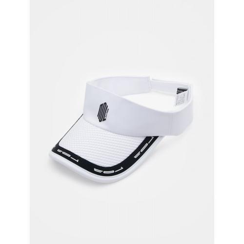 [빈폴골프] [NDL라인] 남성 화이트 로고 테이프 썬 바이저 (BJ938BM411)