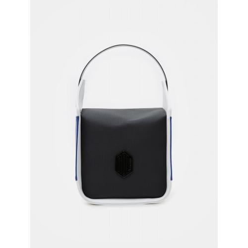 [빈폴골프] [NDL라인] 여성 배색 큐브 토트백 (BJ93D4L415)