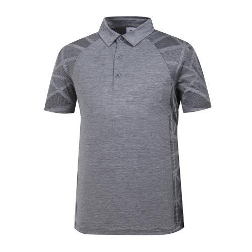 [와이드앵글] 남성 패턴 배색 냉감 티셔츠 WMM19220C4