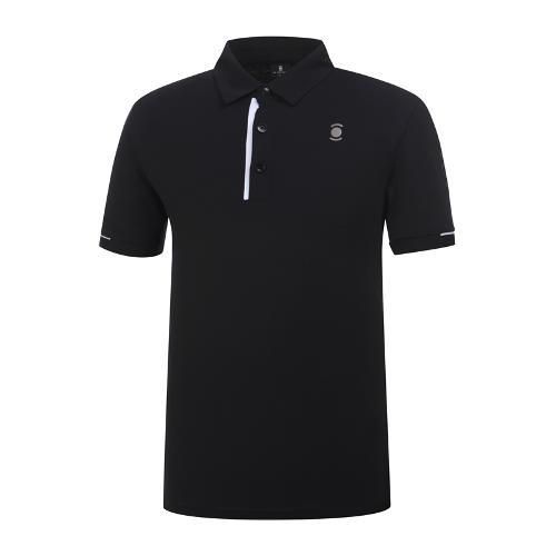 [와이드앵글] 남성 소매 배색 메쉬 티셔츠 WMM19235Z1