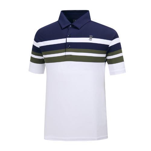 [와이드앵글] 남성 멀티 ST. 배색 티셔츠 WMM19239N4