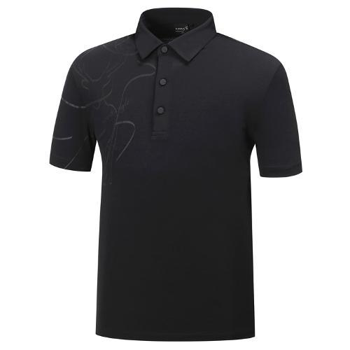 [와이드앵글] 남성 클럽스칸딕 혼디어 포인트 티셔츠 2 WMM19257Z1
