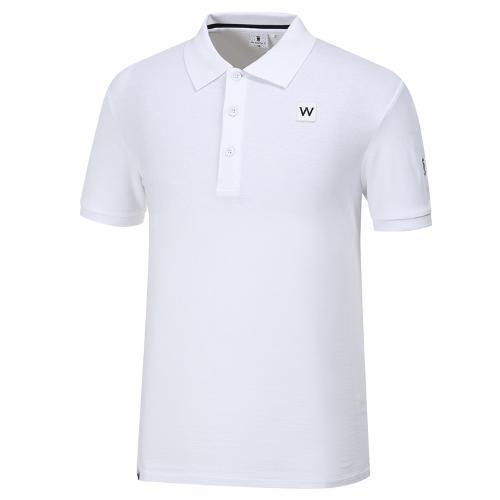 [와이드앵글] 남성 W.아이스 코튼 티셔츠 WMM19234W2
