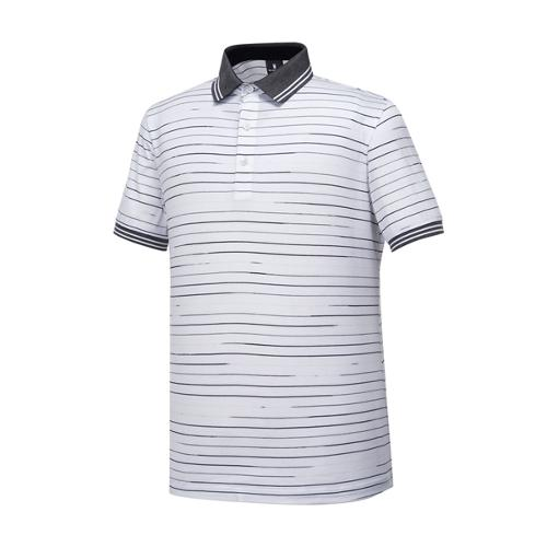[와이드앵글] 남성 베사니 스트라이프 티셔츠 WMM17271W2