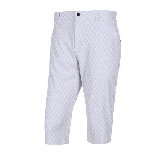 [와이드앵글] 남성 기하학 패턴 7부 팬츠 WMM19310W2