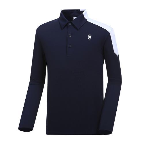 [와이드앵글] 솔리드 배색 포인트 티셔츠 WMP19202N4