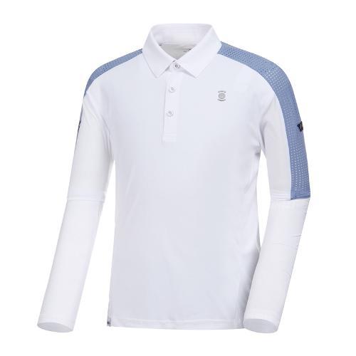[와이드앵글] 남성 W.아이스 리미티드 긴팔 티셔츠 WMM19201W2
