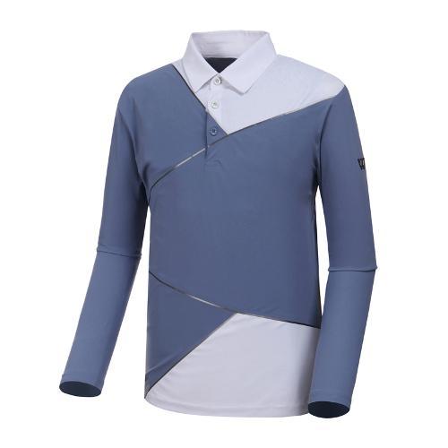 [와이드앵글] 남성 W리미티드 긴팔 티셔츠 1 WMP19205B1