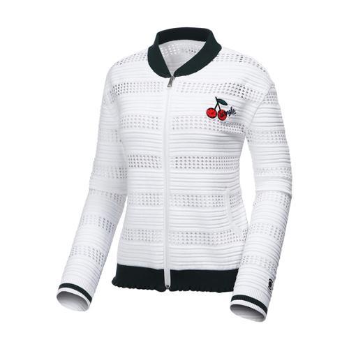 [와이드앵글] 여성 풀집업 스웨터 가디건 WWP17K37W2