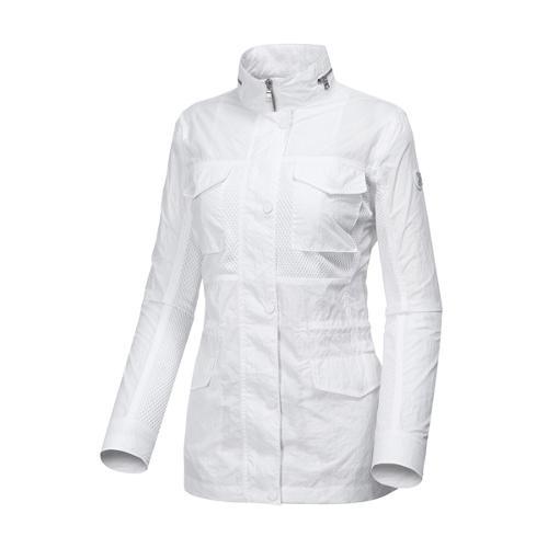 [와이드앵글] 여성 메쉬 조직 믹스 사파리형 자켓 WWP17172W2