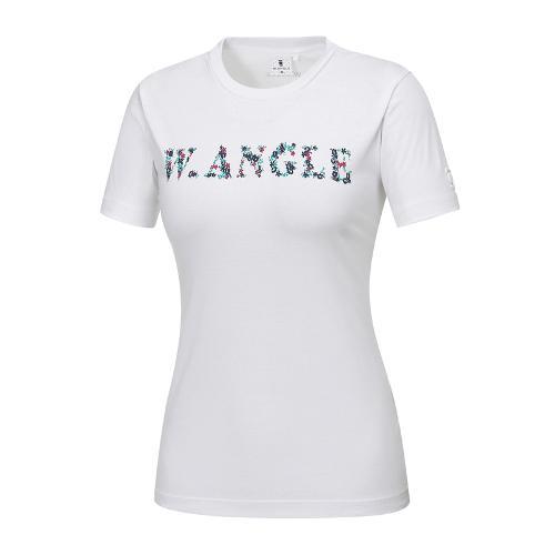 [와이드앵글] 여성 로고프린트 라운드 티셔츠 2 WWM18249W2