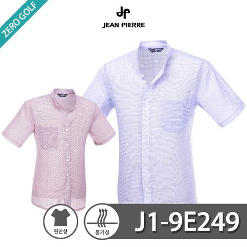 [JEAN PIERRE] 쟌피엘 남성 차이나카라 반팔셔츠 Model No_J1-9E249