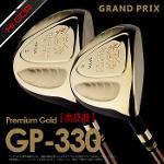 골핑단독/전시스크래치99.9%/그랑프리 정품 프리미엄 골드 GP-330 고반발 남성 페어웨이우드