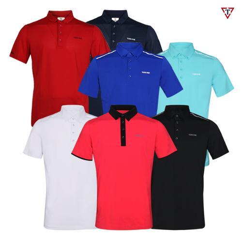 [골핑딜] 토드휴 여름 골프웨어 남성 골프셔츠 특가전