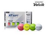 정품 볼빅 XT SOFT 엑스티 소프트 골프공컬러볼골프볼