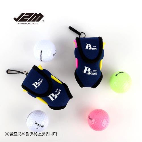 (PV)골프공 신형투볼주머니