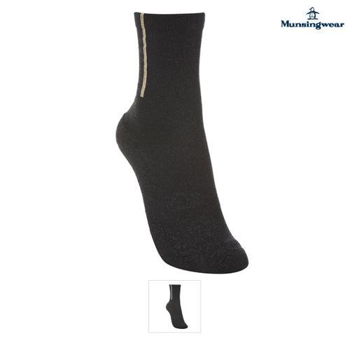 [먼싱웨어] 여성 로고패턴 레귤러양말 (M9322LSO76)