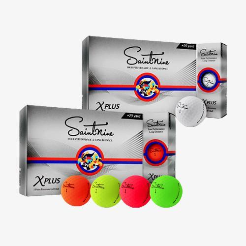 2더즌 총24구 넥센 세인트나인 X 플러스 3피스 골프공