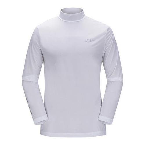 [JACKNICKLAUS] 남성 베이직 아이스스킨 티셔츠_LNTAM18921WHX