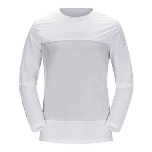 [JACKNICKLAUS] 남성 매쉬 배색 아이스 스킨 티셔츠_LNTAM18851WHX