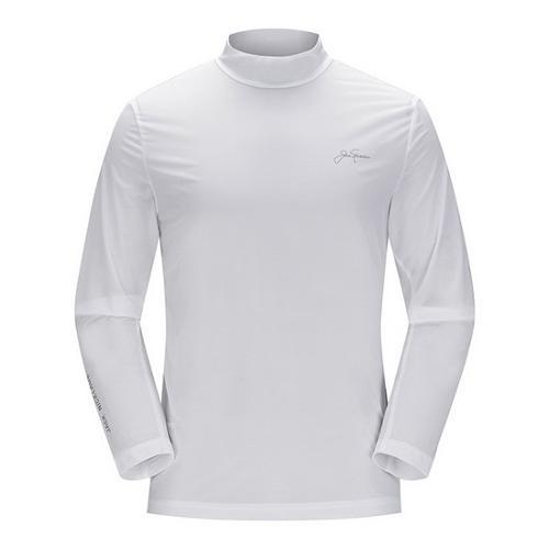 [JACKNICKLAUS] 남성 매쉬 믹스 아이스 스킨 티셔츠_LNTAM18831WHX