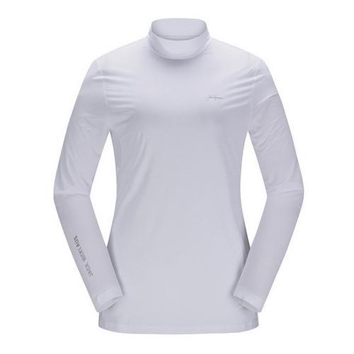 [JACKNICKLAUS] 여성 솔리드 아이스 스킨 티셔츠_LWTAM18811WHX