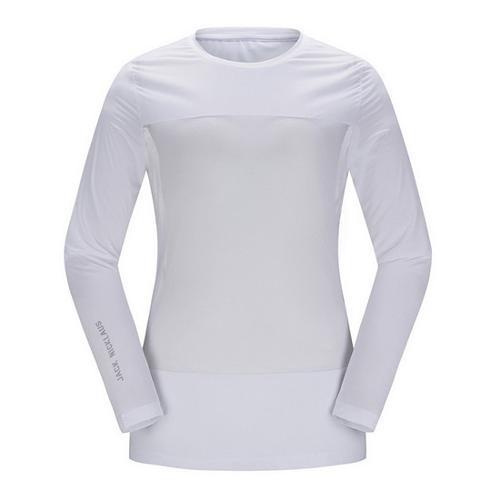 [JACKNICKLAUS] 여성 매쉬 블럭 아이스 스킨 티셔츠_LWTAM18831WHX