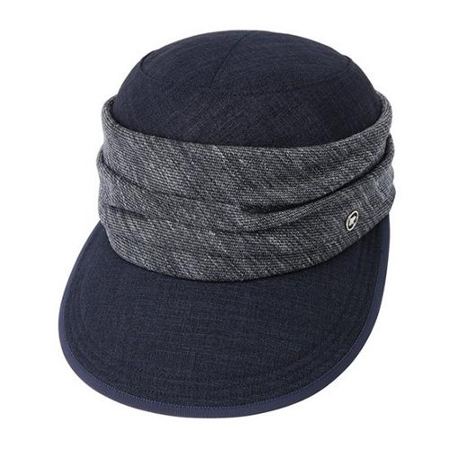 [JACKNICKLAUS] 여성 린넨 믹스 포인트 HAT_LGRAM19081NYX