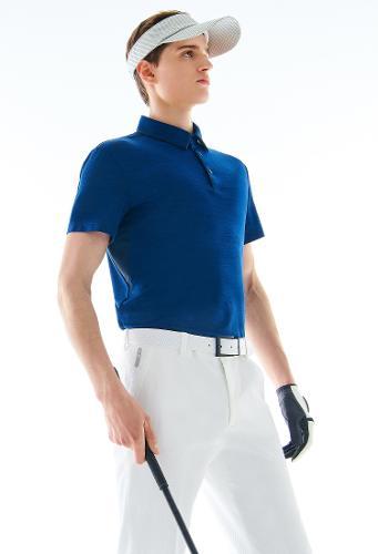 [ELORD] GX 남성 배색 카라 티셔츠_NTTCM19906BUX