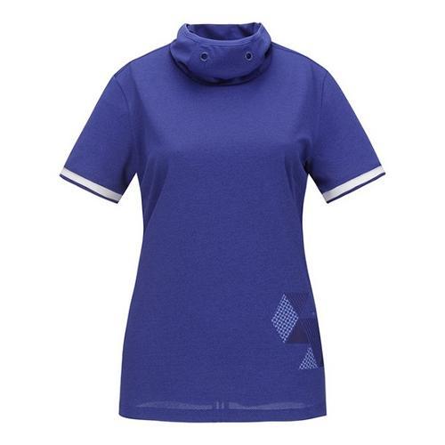 [ELORD] GX 여성 터틀넥 반팔 티셔츠_NQTCM19905BUX