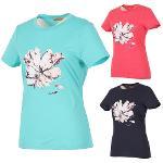 [김영주골프] 여름 꽃프린트 라운드 티셔츠 GJMLTS72