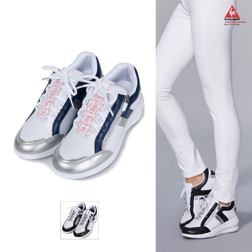 [르꼬끄골프] [19FW 신상]여성 트윙클 스파이크리스 5cm 키높이 골프화 (G9322LSH74)