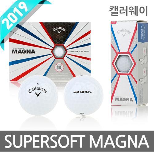 2019 캘러웨이 SUPERSOFT MAGNA 2피스 골프공