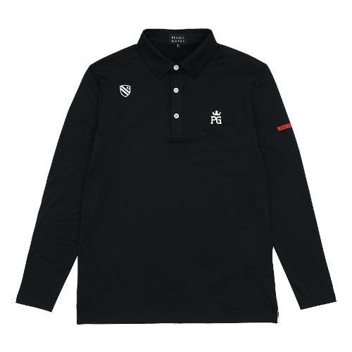 [파리게이츠]남성 카라 베이직 긴팔 티셔츠 51293TS903_BK