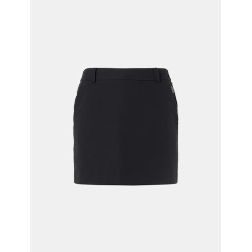 [빈폴골프] [THE OPEN] 여성 블랙 브이컷 포인트 큐롯 (BJ8726E055)