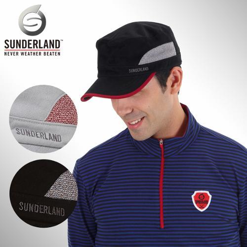 [Sunderland Of Scotland] 선덜랜드 남성 자수로고 멀티배색 군모스타일 모자 - 16331CP22