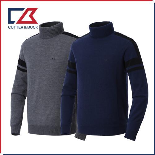 커터앤벅 남성 방풍 니트 스웨터 - PB-11-184-102-02