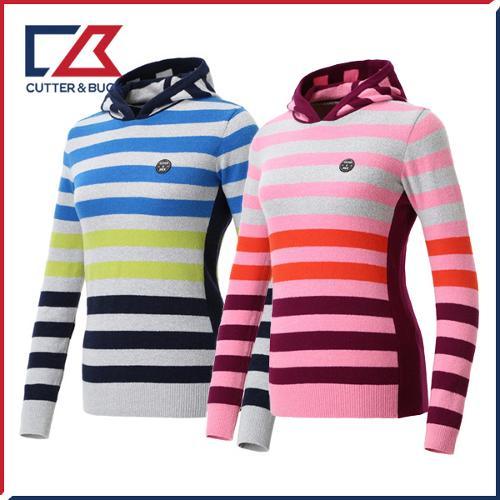커터앤벅 여성 스판 니트 스웨터 - PB-11-184-202-04
